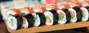 sushi rolls, Japanese Restaurant