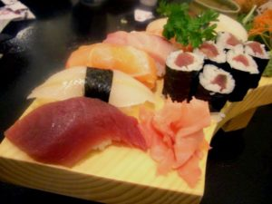 Sushi, Sashimi, Japanese food