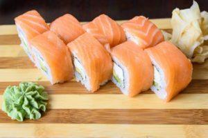 Sushi, Sashimi, Japanese food