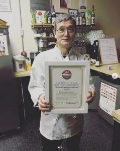 Chef Koji Okabe